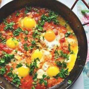 Шакшука — отличный традиционный израильский завтрак!