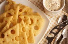 Легкие сырные крекеры — вкуснейшая закуска!