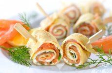 Сырный рулет с семгой — великолепная закуска!