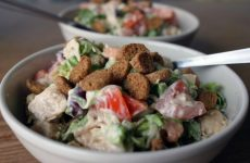 Весенний салат — вкусненький салатик!