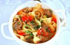 Вкуснейший лагман — популярное среднеазиатское национальное блюдо!