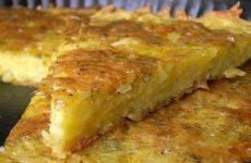 Запеканка из тёртого картофеля — такое простое блюдо, но вкуснючее до безобразия!