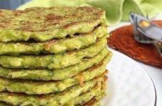 Зеленые оладьи — вкусные и полезные!