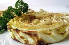 Жареная капуста с чесноком — оригинальный, ароматный, постный рецептик!