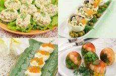 4 рецепта приготовления яиц к праздничному столу!