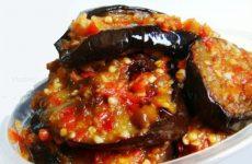 Баклажаны в аджике — очень вкусная и простая закусочка!