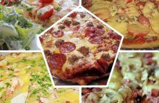 Домашняя пицца топ-5 рецептов!