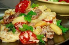 Картофель «по-французски» на сковороде — ароматная, вкусная картошечка!