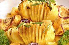 Картофель с ананасовым соусом — нечто экзотическое, оригинально и вкусно!