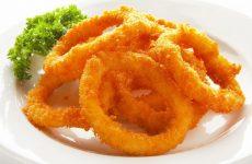 Кольца кальмара, жаренные во фритюре — простой рецептик вкусной закусочки!