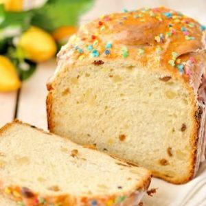 Кулич в хлебопечке с миндалем и изюмом — для самых ленивых или очень занятых!!!