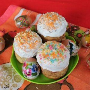 Куличи с апельсиновым вкусом — отличным украшением стола к Пасхе!
