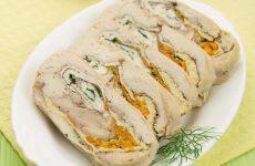 Руляда из курицы — необыкновенно вкусное блюдо!