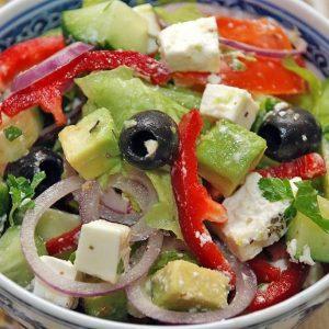 Салат с авокадо — блюдо для настоящих гурманов!