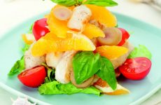 Салат с рыбой и апельсином — отличное сочетание и невероятный вкус!