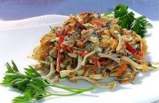 Салатик «Гурман» — необычный, интересный, красивый салат!