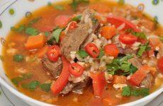 Суп харчо — пикантность этого супа зашкаливает!
