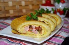 Яичные роллы с начинкой — красивый и вкусный завтрак!