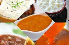 5 вкуснейших соусов к мясным блюдам!