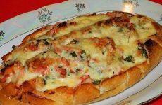 Батон-пицца — готовьте с удовольствием!