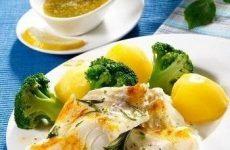 Филе трески на пару — очень вкусное блюдо!