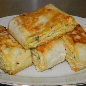 Хрустящая закуска из лаваша — порадует Вас своим вкусом!