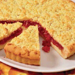 Кучерявый пирог с вареньем — вкусен и прост, однако, очень быстро съедается!