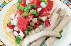 Овощной салат со свининой — просто, вкусно, сытно и доступно!