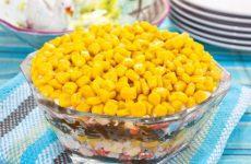 Салат «Дикое озеро» — любителям морской капусты!