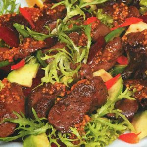 Салат из свеклы с печенью — вкусный и сытный!