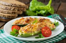 Цукини с ветчиной и сыром — закуска на все случаи жизни!