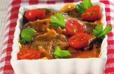 Язык по-итальянски с сыром и помидорами — вкуснятина!