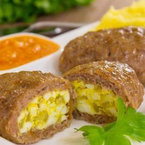 Зразы мясные с яйцом и луком — нежные, сочные, вкусные!