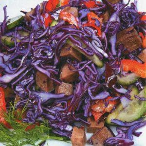 Диетический салат с языком — вкусный салат с необычным насыщенным вкусом!