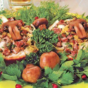 Горячие бутерброды с начинкой из мяса и белых грибов — настоящая палочка выручалочка!