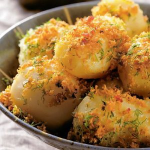 Молодой картофель по-кончаловски —  это потрясающе вкусно!