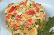 Оливье с рыбой — салат № 1 на все времена!