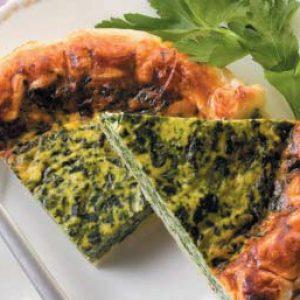 Пирог со шпинатом и сыром — готовится быстро, нехлопотно и выглядит на все 100!