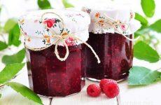 Варенье из малины с коньяком — полезное и вкусное варенье!