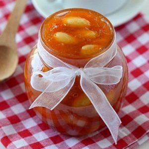 Абрикосовый джем с миндалем — чарующий аромат…!