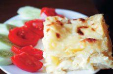 Ачма — настоящий грузинский слоеный пирог с сыром!