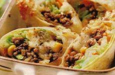 Блинчики с мясом и овощами —  наполненные теплотой илюбовью!