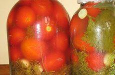 Бочковые помидоры в банках на зиму