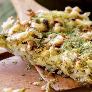 Картофельный пирог с сыром — можно съесть очень много!