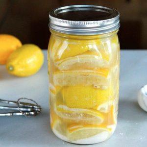 Консервированные лимоны — отличный ингредиент различных десертов и выпечки!