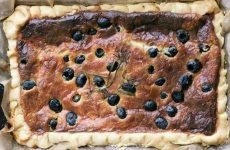 Пирог с маслинами — совершенно несложный и быстрый в приготовлении!