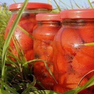 Помидоры консервированные сладкие — удивительно вкусные помидорчики!