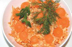 Салат «Морковно-яблочный» — полезный и вкусный!