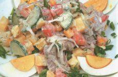 Салат «богатырь» — праздничный салатик!
