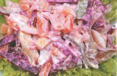 Салат «змейка» — простой и оригинальный салатик!